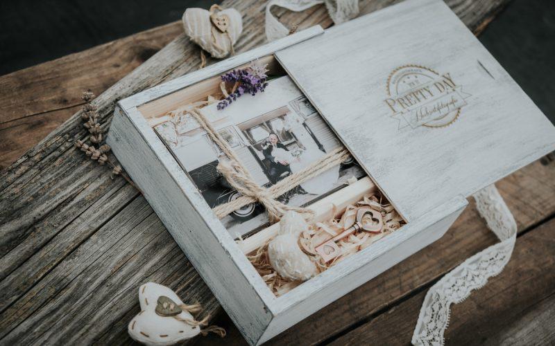 Geschenkbox-Hochzeit